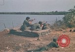 Image of Vietnamese Forces engaged in live fire mock combat Vietnam, 1970, second 9 stock footage video 65675032684