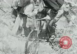 Image of Viet Cong moving supplies in Jungles on bicycles Vietnam, 1967, second 10 stock footage video 65675032692