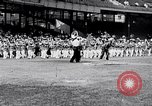 Image of George Dern Washington DC Griffith Stadium USA, 1933, second 2 stock footage video 65675032717