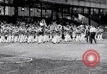 Image of George Dern Washington DC Griffith Stadium USA, 1933, second 7 stock footage video 65675032717