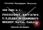 Image of Armada parade New York City USA, 1934, second 1 stock footage video 65675032719