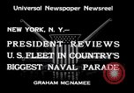 Image of Armada parade New York City USA, 1934, second 5 stock footage video 65675032719