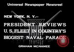 Image of Armada parade New York City USA, 1934, second 9 stock footage video 65675032719