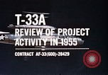 Image of T-33A Shooting Star United States USA, 1955, second 6 stock footage video 65675032725