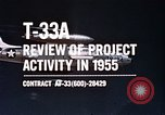 Image of T-33A Shooting Star United States USA, 1955, second 7 stock footage video 65675032725