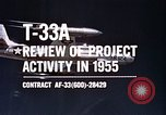 Image of T-33A Shooting Star United States USA, 1955, second 10 stock footage video 65675032725