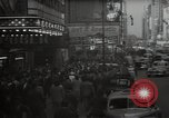 Image of Time Square New York City USA, 1948, second 2 stock footage video 65675032737