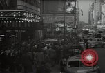 Image of Time Square New York City USA, 1948, second 3 stock footage video 65675032737