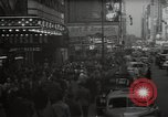 Image of Time Square New York City USA, 1948, second 6 stock footage video 65675032737