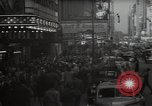Image of Time Square New York City USA, 1948, second 7 stock footage video 65675032737