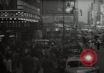 Image of Time Square New York City USA, 1948, second 9 stock footage video 65675032737