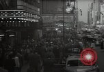Image of Time Square New York City USA, 1948, second 11 stock footage video 65675032737