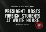 Image of John F Kennedy Washington DC White House USA, 1961, second 3 stock footage video 65675032757