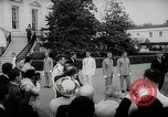 Image of John F Kennedy Washington DC White House USA, 1961, second 10 stock footage video 65675032757