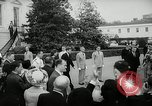 Image of John F Kennedy Washington DC White House USA, 1961, second 11 stock footage video 65675032757
