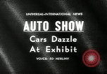 Image of 6th Annual International Automobile Show New York United States USA, 1962, second 5 stock footage video 65675032766