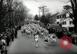 Image of 66th Boston Marathon race Boston Massachusetts USA, 1962, second 10 stock footage video 65675032767