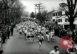 Image of 66th Boston Marathon race Boston Massachusetts USA, 1962, second 11 stock footage video 65675032767