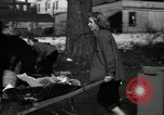 Image of People cleaning up a lot for use as a playground Monroe New York USA, 1950, second 11 stock footage video 65675032772