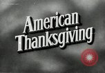 Image of American family preparing Thanksgiving dinner United States USA, 1954, second 2 stock footage video 65675032785