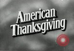 Image of American Thanksgiving United States USA, 1954, second 3 stock footage video 65675032785