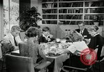 Image of 1950's American family Thanksgiving United States USA, 1954, second 2 stock footage video 65675032791