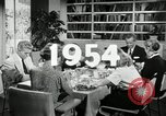 Image of 1950's American family Thanksgiving United States USA, 1954, second 3 stock footage video 65675032791