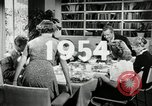 Image of 1950's American family Thanksgiving United States USA, 1954, second 5 stock footage video 65675032791