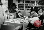 Image of 1950's American family Thanksgiving United States USA, 1954, second 6 stock footage video 65675032791