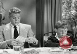 Image of 1950's American family Thanksgiving United States USA, 1954, second 7 stock footage video 65675032791