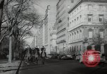 Image of New York City policemen on horseback New York City USA, 1939, second 7 stock footage video 65675032803