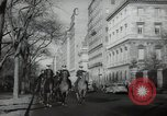 Image of New York City policemen on horseback New York City USA, 1939, second 12 stock footage video 65675032803