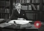 Image of British art critic Herbert Read London England United Kingdom, 1950, second 1 stock footage video 65675032809