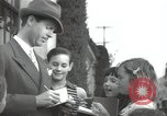Image of Hollywood Actor give autographs Los Angeles California USA, 1936, second 2 stock footage video 65675032817