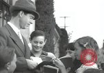 Image of Hollywood Actor give autographs Los Angeles California USA, 1936, second 3 stock footage video 65675032817
