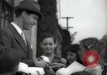 Image of Hollywood Actor give autographs Los Angeles California USA, 1936, second 11 stock footage video 65675032817