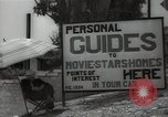 Image of Tour service for Hollywood stars homes Hollywood California USA, 1936, second 10 stock footage video 65675032819