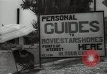 Image of Tour service for Hollywood stars homes Hollywood California USA, 1936, second 11 stock footage video 65675032819
