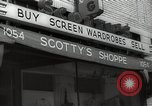 Image of signs Hollywood Los Angeles California USA, 1932, second 4 stock footage video 65675032824