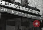Image of signs Hollywood Los Angeles California USA, 1932, second 5 stock footage video 65675032824