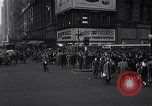 Image of Midtown Manhattan busy street scenes New York City USA, 1948, second 11 stock footage video 65675032835