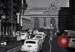 Image of Park Avenue Manhattan New York City USA, 1948, second 4 stock footage video 65675032838