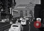 Image of Park Avenue Manhattan New York City USA, 1948, second 7 stock footage video 65675032838