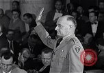 Image of Major General Miles Reber Washington DC USA, 1954, second 12 stock footage video 65675032841