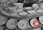 Image of enamelware Scotland United Kingdom, 1950, second 2 stock footage video 65675032851