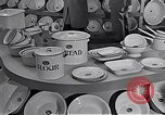 Image of enamelware Scotland United Kingdom, 1950, second 3 stock footage video 65675032851
