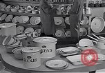 Image of enamelware Scotland United Kingdom, 1950, second 4 stock footage video 65675032851