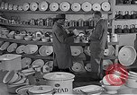 Image of enamelware Scotland United Kingdom, 1950, second 6 stock footage video 65675032851