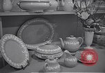 Image of enamelware Scotland United Kingdom, 1950, second 12 stock footage video 65675032851