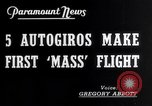 Image of YG-1B auto-gyros Dayton Ohio USA, 1938, second 4 stock footage video 65675032872